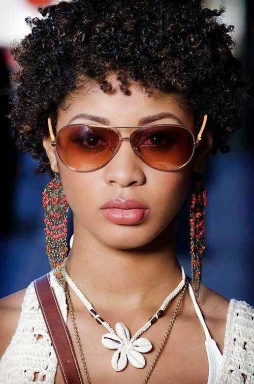 Trendy Short Natural Afro Hairstyles