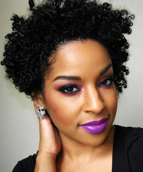 Hairstyles For Short Kinky Hair : 20 Short Curly Afro Hairstyle Short Hairstyles & Haircuts 2015