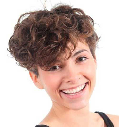 Best Very Short Curly Hair Round Face
