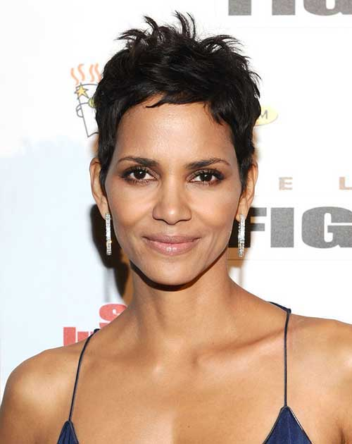 Halle Berry Short Haircuts-10