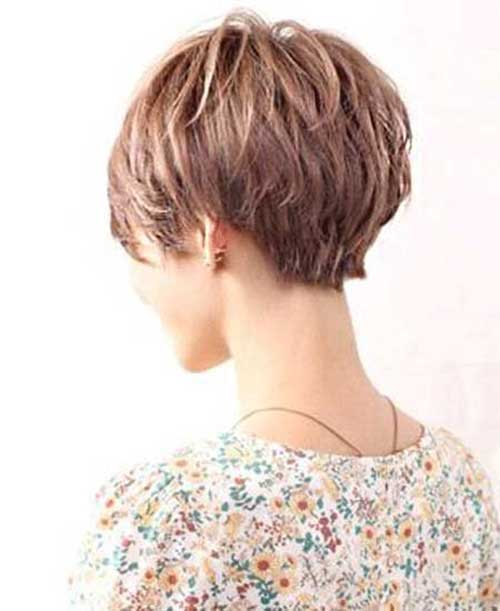 Short Haircuts with Layers-10
