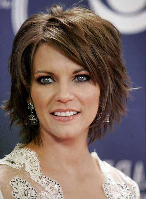 short hair style for oval face 20 haircuts for oval hairstyles 6804 | 11.Best Short Haircuts for Oval Face