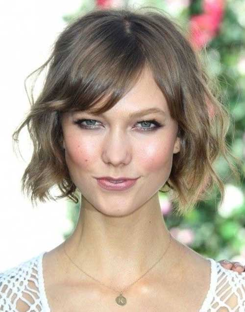Cute Short Wavy Hair-11