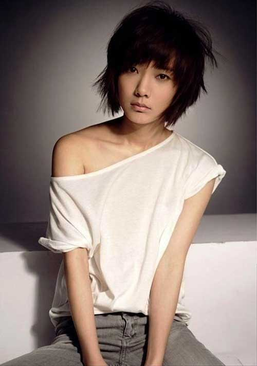 Cute Short Layered Hair-11
