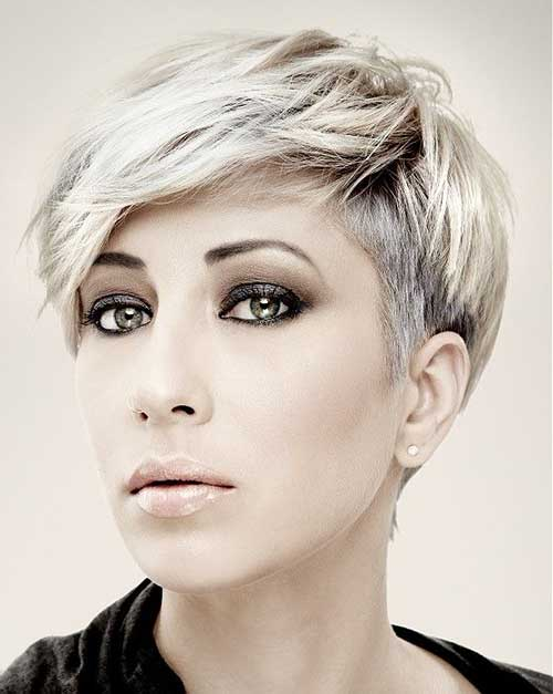 short hair style for oval face 20 haircuts for oval hairstyles 6804 | 12.Best Short Haircuts for Oval Face