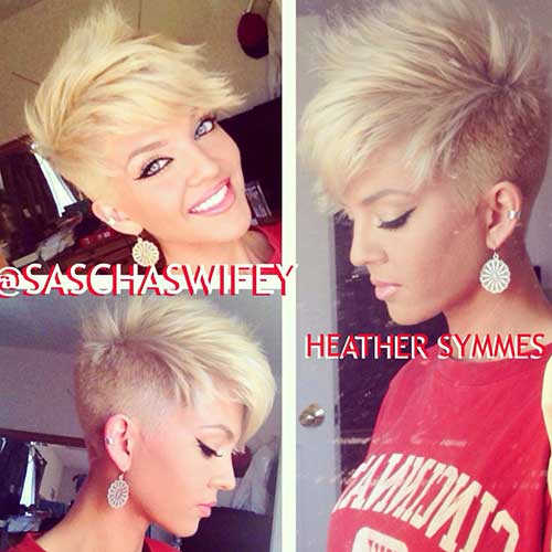 12.Different Short Hairstyles