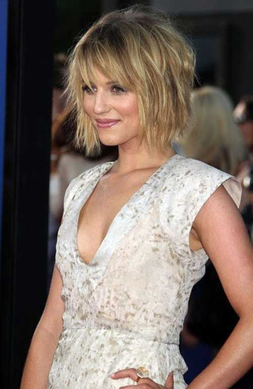 Cute Short Layered Hair-13