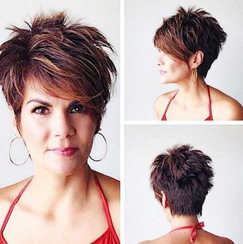 Short Haircuts for Oval Face-14