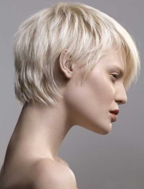 Short Layered Textured Hairstyles
