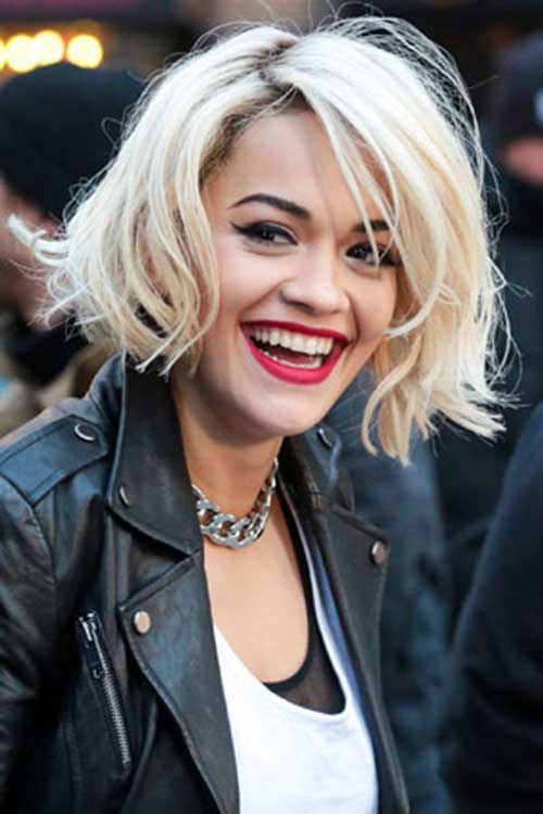 Bob haircut with fringe 2015