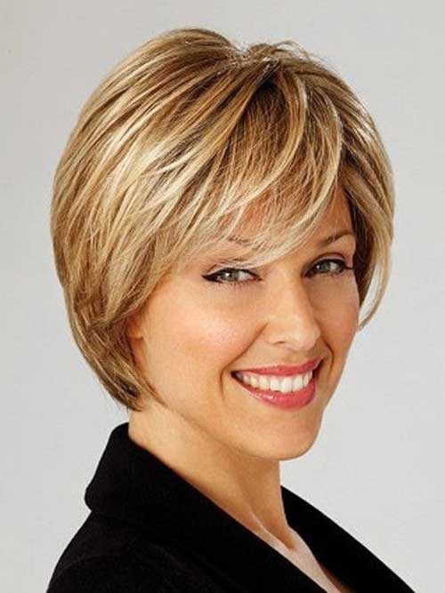 Short Haircuts for Oval Face-16