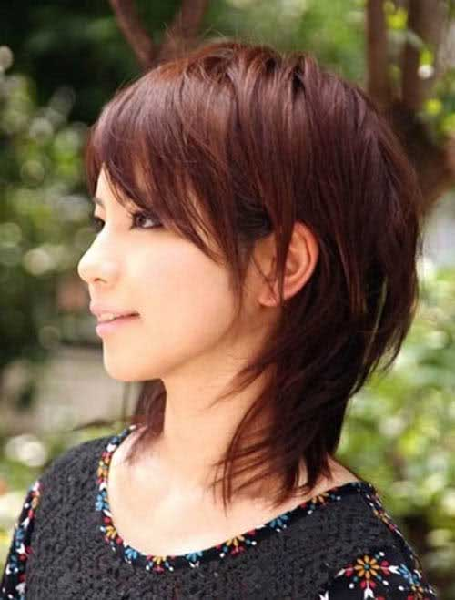 Cute Short Layered Hair-16
