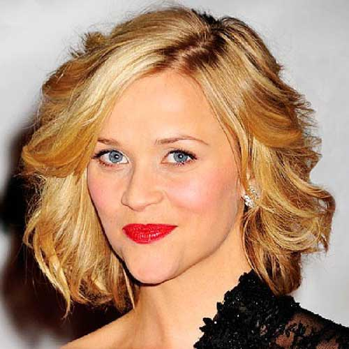 Cute Short Wavy Hair-17