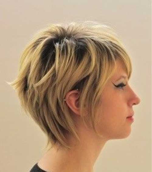 Cute Short Layered Hair-17