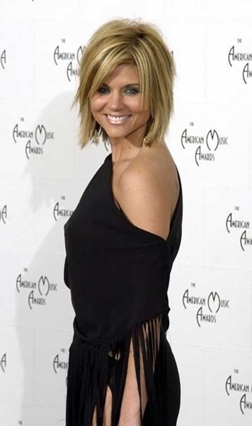 Hairstyles For Short Hair-17