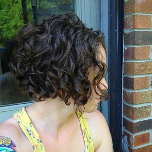 Short Haircuts for Curly Hair 2016-18