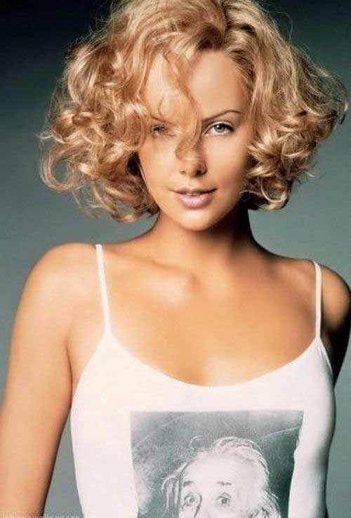 Short Haircuts for Curly Hair 2016-19