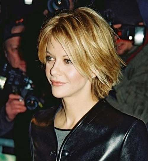 Cute Short Layered Hair-19