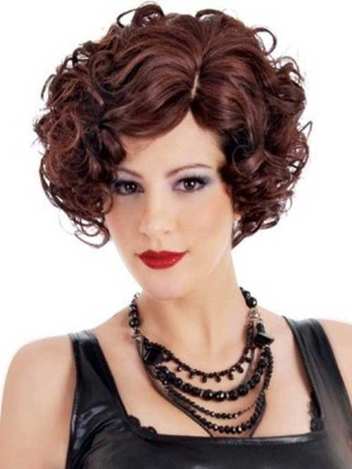 Short Haircuts for Curly Hair 2016-20