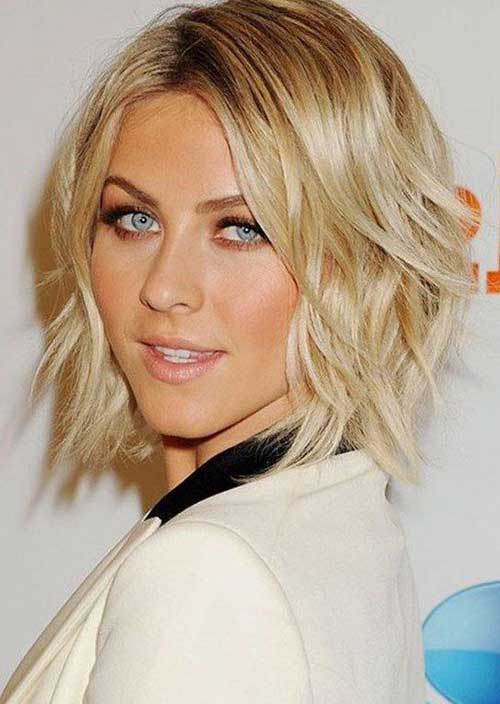 Cute Short Wavy Hair-20