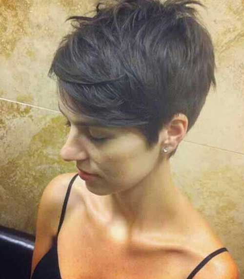 Cute Short Layered Hair-20