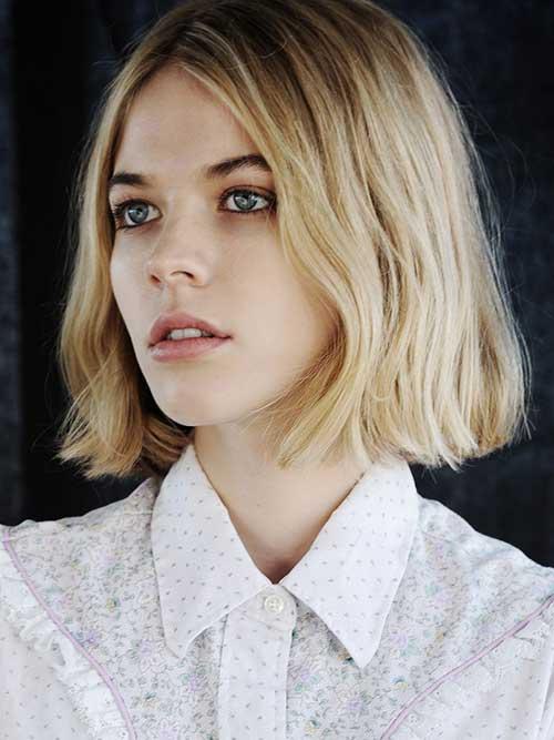 30 Best Long Blonde Bob Short Hairstyles Amp Haircuts