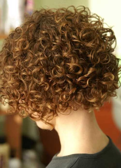 Hairstyles for Short Curly Hair-22