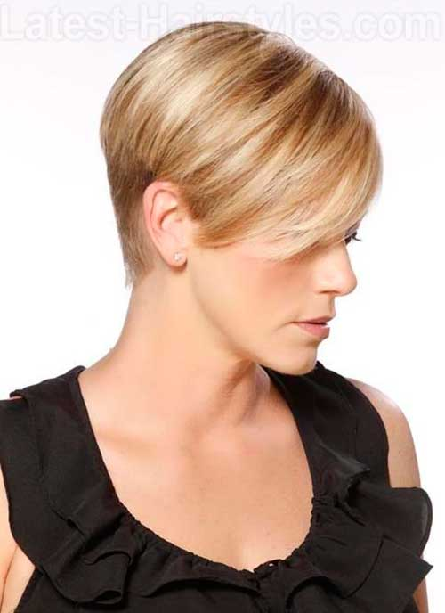 Cute Short Hair Cuts-23