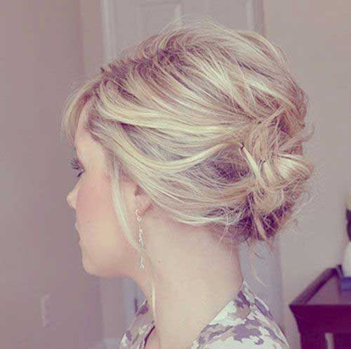 Hairstyles For Short Hair-23