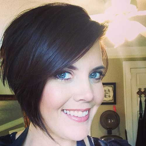 Hairstyles For Short Hair-24