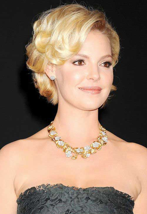 Hairstyles for Short Curly Hair-25