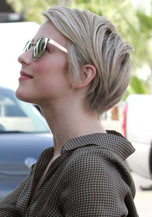 Hairstyles For Short Hair-27