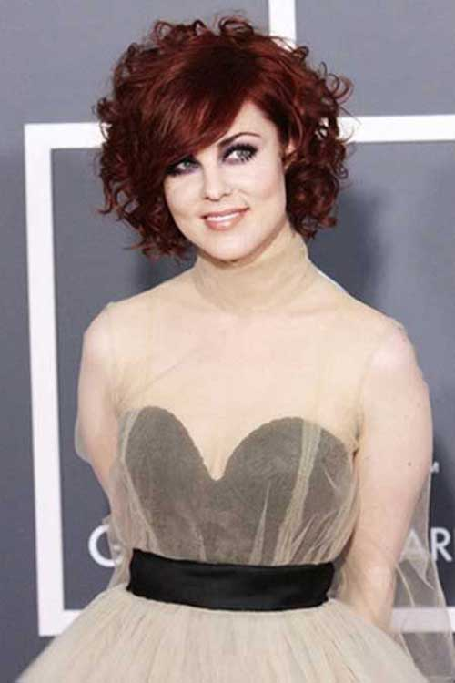 Short Haircuts for Curly Hair 2016-30