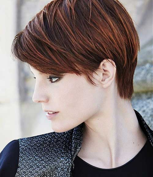best short haircut styles 25 best brown haircuts hairstyles amp haircuts 6128 | 6.Best Short Brown Haircuts