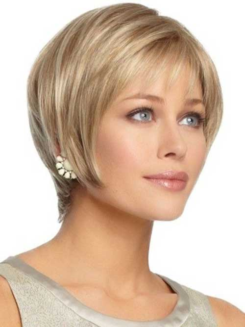 Short Haircuts for Oval Face-6