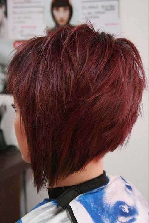 Cute Short Layered Hair-6
