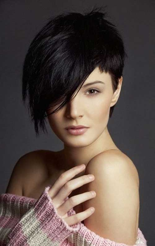 Short Haircuts for Oval Face-7