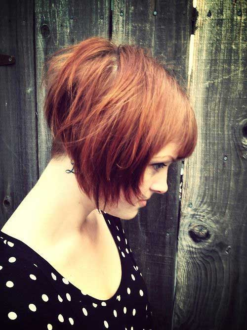 Cute Short Layered Hair-7