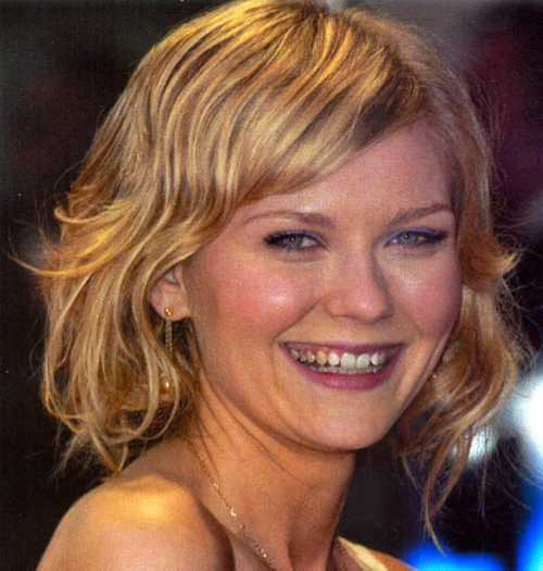 Medium Short Wavy Hairstyles-7