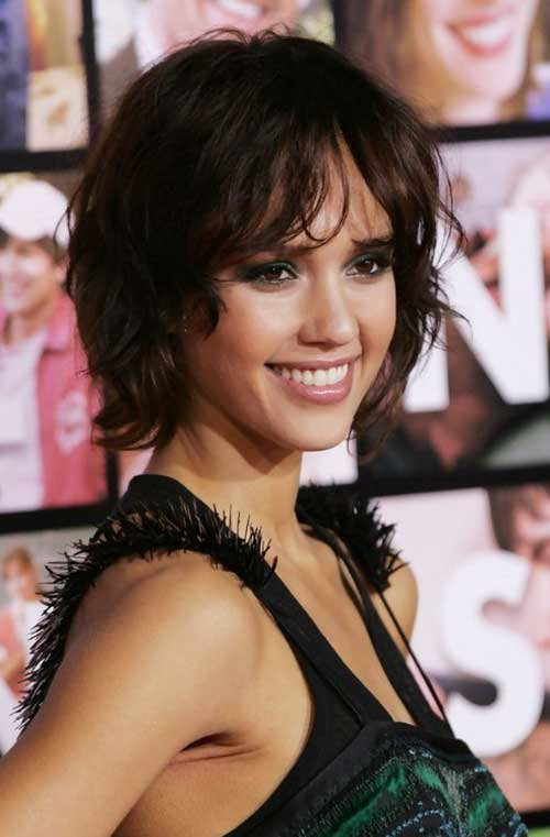 Cute Short Layered Hair-8