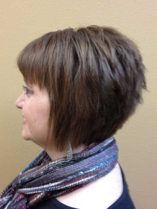 Short Haircuts with Layers-8
