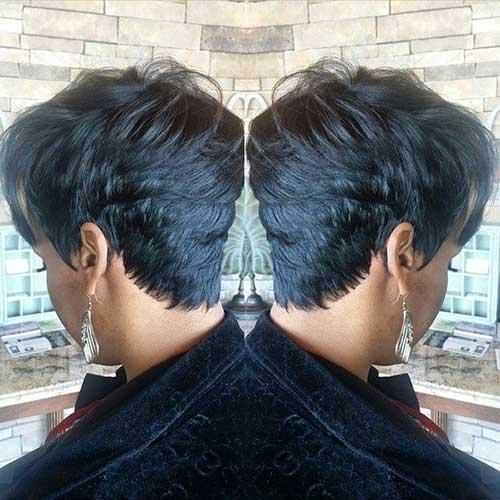 9.Short Hair Cuts