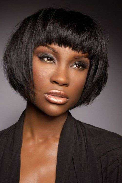 Best African American Hairstyles with Bangs