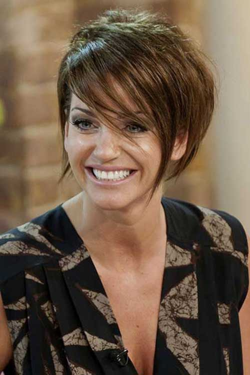 Cute Short Layered Hair