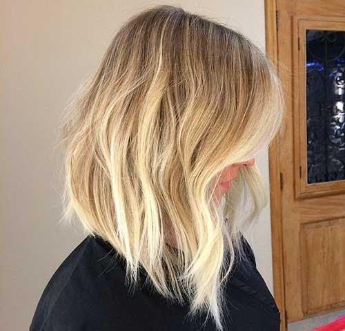 Long Blonde Bobs
