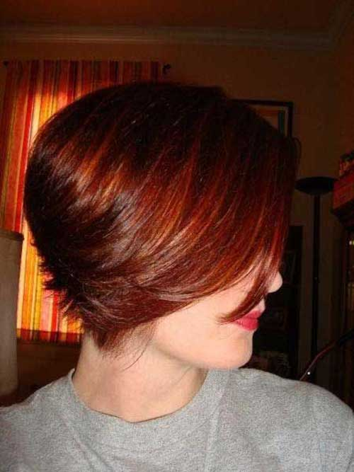 Short Red Hair Color Trends 2015