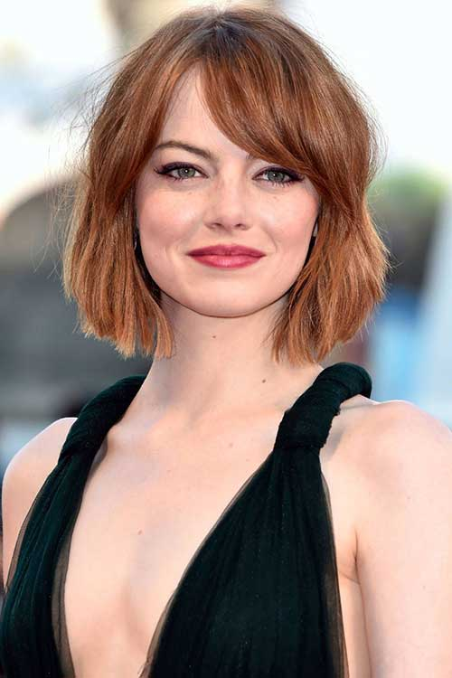 Emma Stone Short Bob Hair