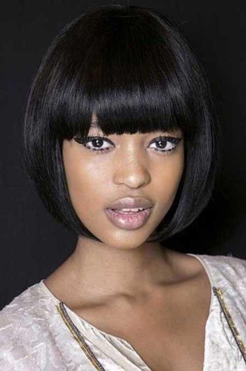 Prime Black Hairstyles Bob With Bangs Best Hairstyles 2017 Short Hairstyles For Black Women Fulllsitofus