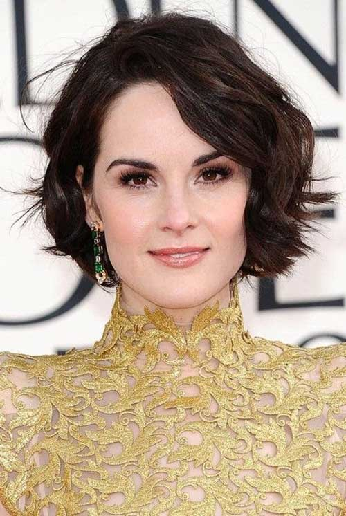 Short Haircuts for Wavy Hair 2016
