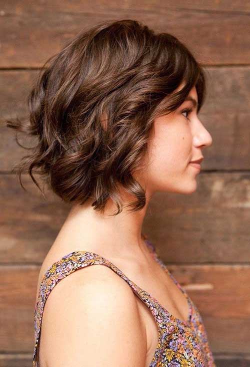 Short Curly Hair Hairstyle